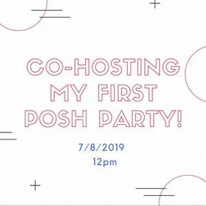 Like & Share! My First POSH PARTY!